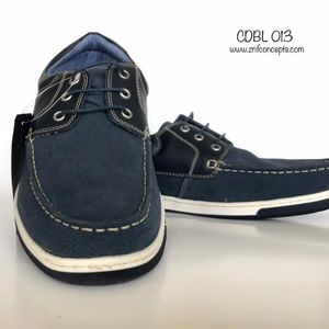 Boat Shoes, Lace up Men's Suede leather Shoes